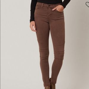 Flying monkey brown skinny jeans 25